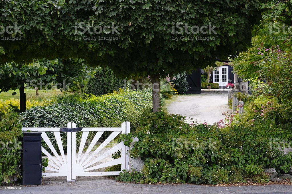 Gittermuster Tür - – Foto