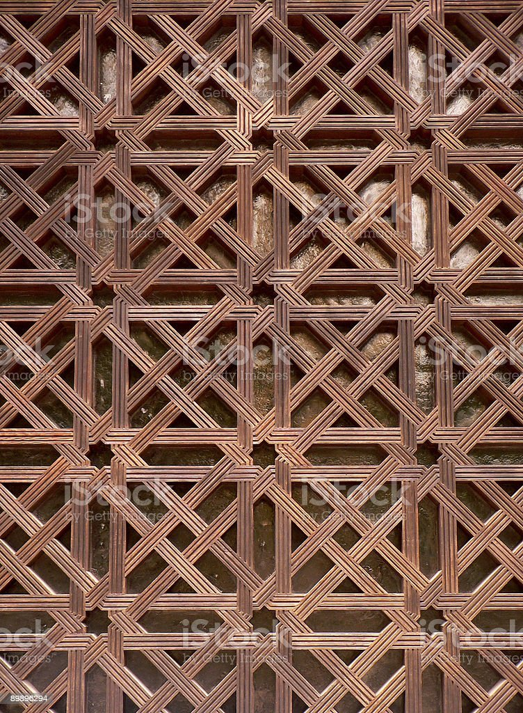 Lattice royalty-free stock photo