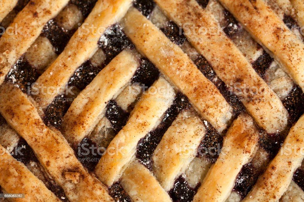 Lattice pie royalty-free stock photo