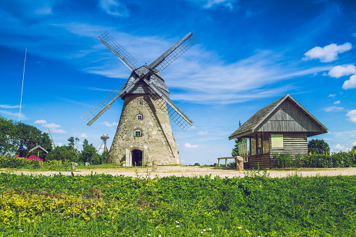 Latvia, 2015, Nature and mill.