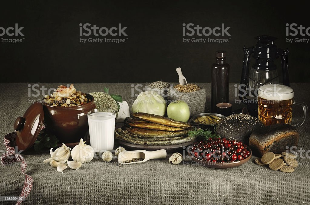 Latvian Food royalty-free stock photo