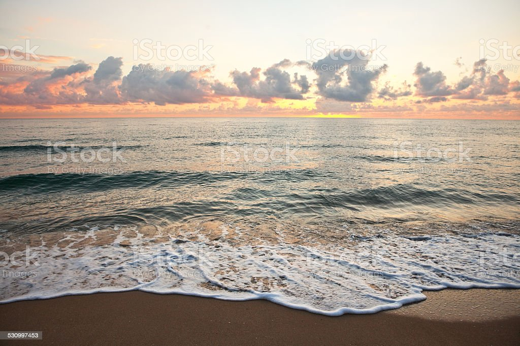 Lauderdale-by-the-Sea stock photo