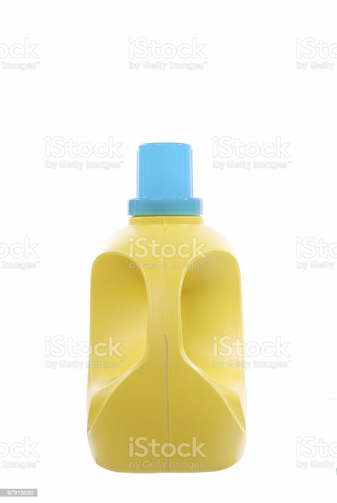 Laudry detergent bottle royalty-free stock photo