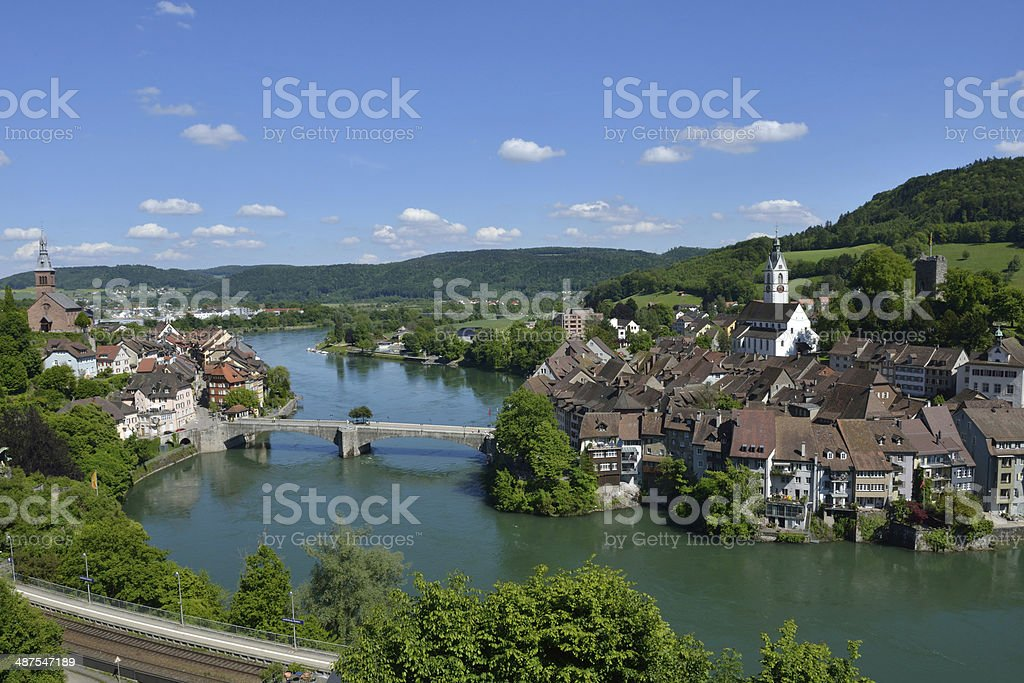Laufenburg stock photo