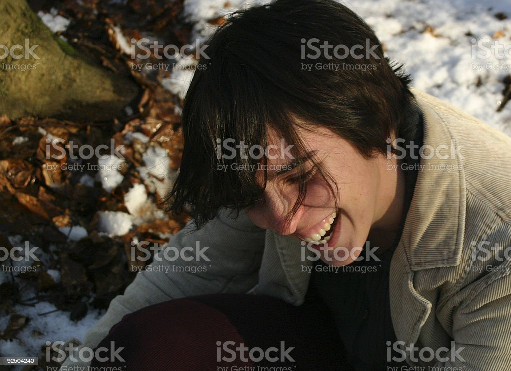Laugh! royalty-free stock photo
