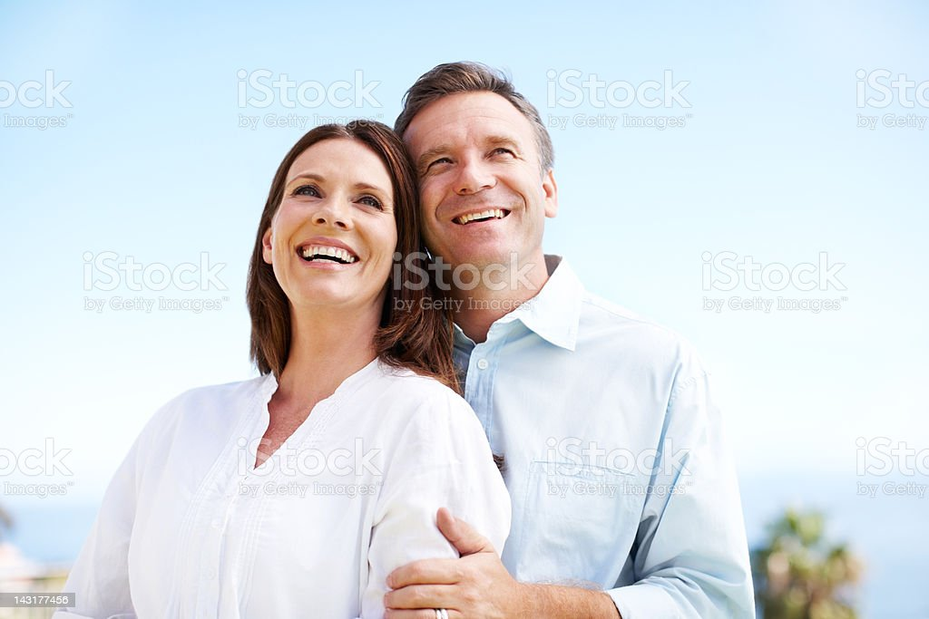 Laugh yourself to a happier life royalty-free stock photo