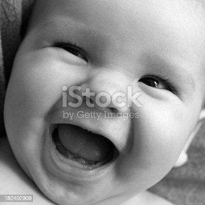 istock Laughing Baby 182402909