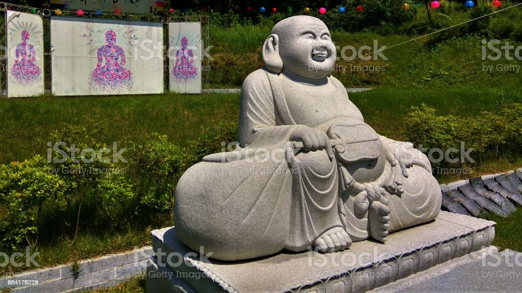 Laughing Buddha royalty-free stock photo