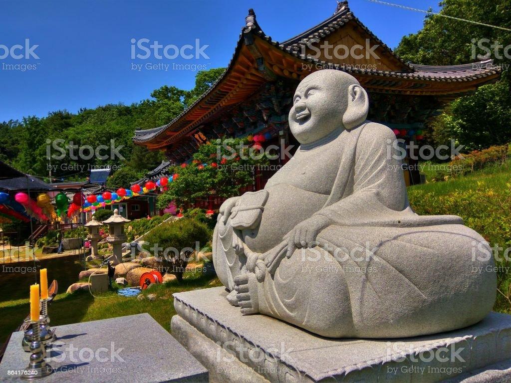 Laughing Buddha royalty-free stock photo