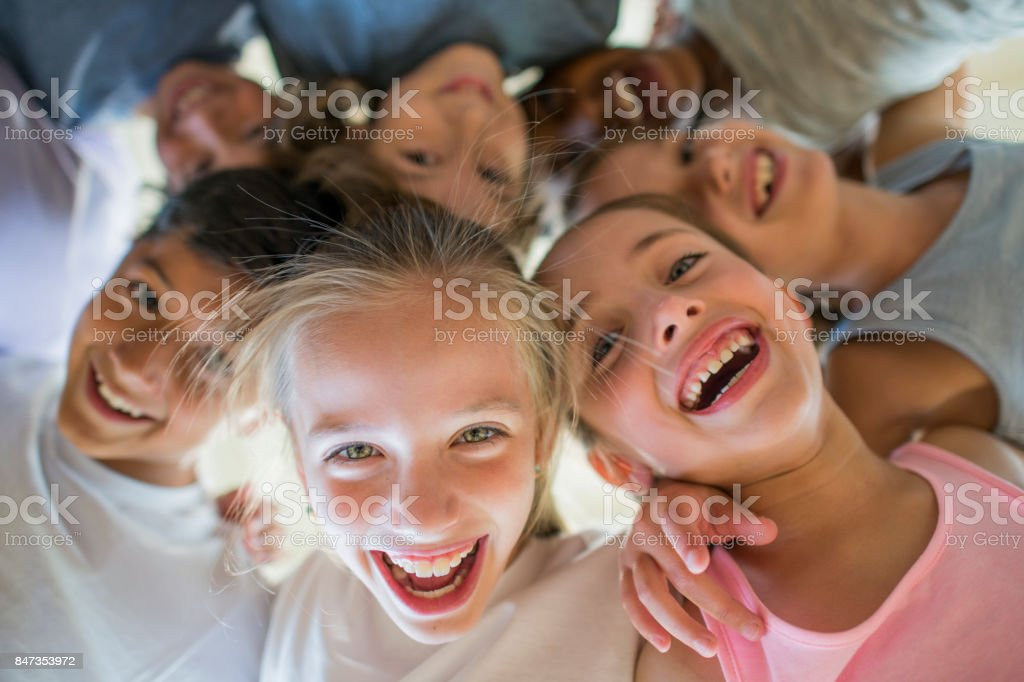 Laughing Children - Royalty-free 10-11 Years Stock Photo