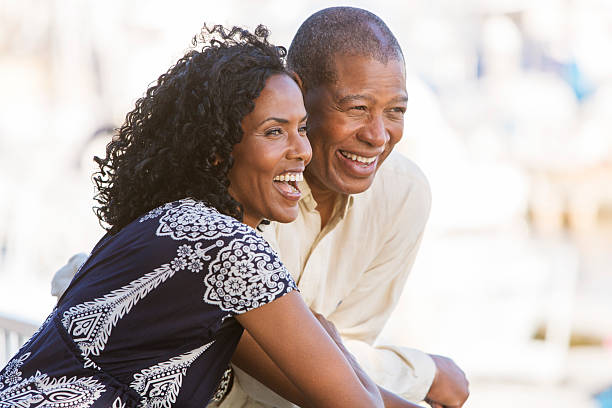 Laughing Couple stock photo