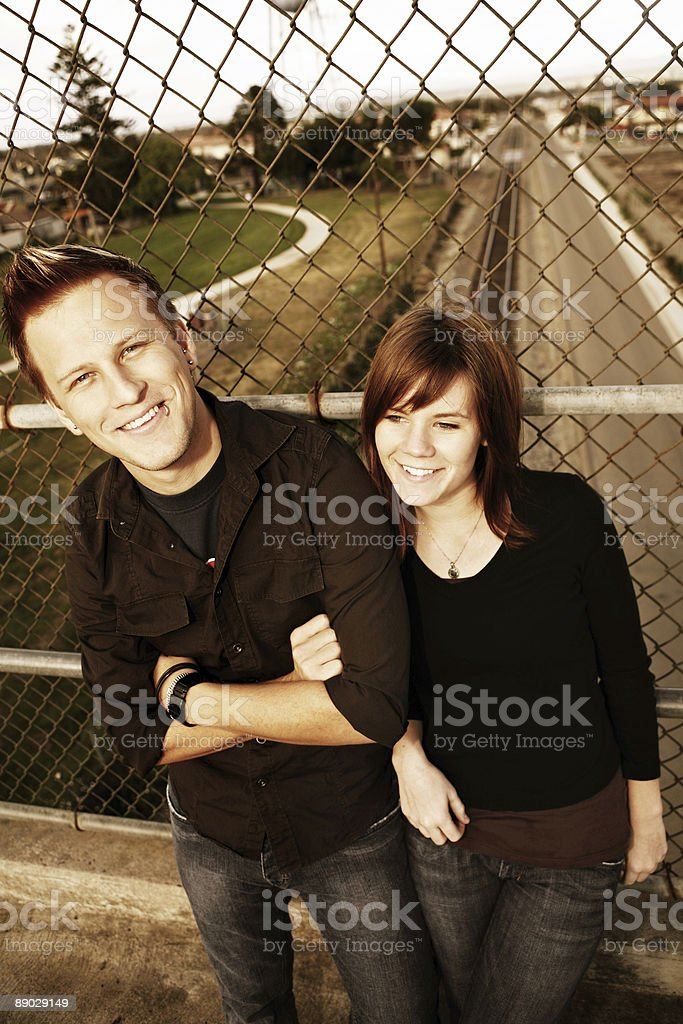 Laughing Couple royalty-free stock photo