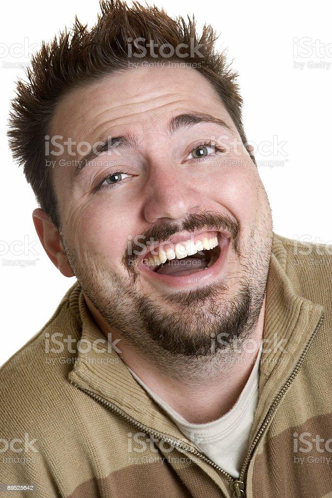 Lachen Mann Lizenzfreies stock-foto