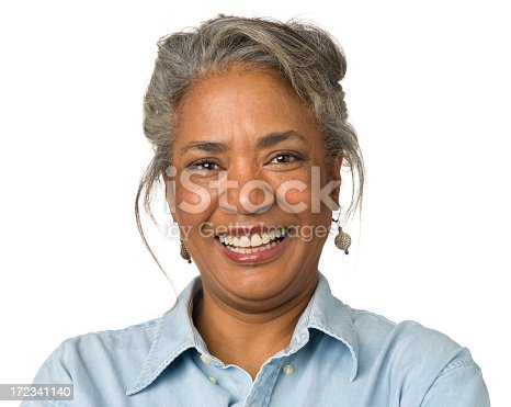 1173001813istockphoto Laughing Mature Woman Close-up Portrait 172341140