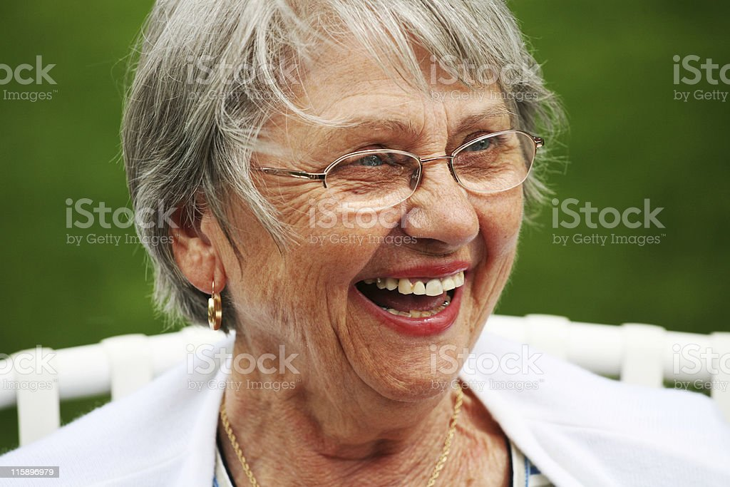 Laughing Mother royalty-free stock photo