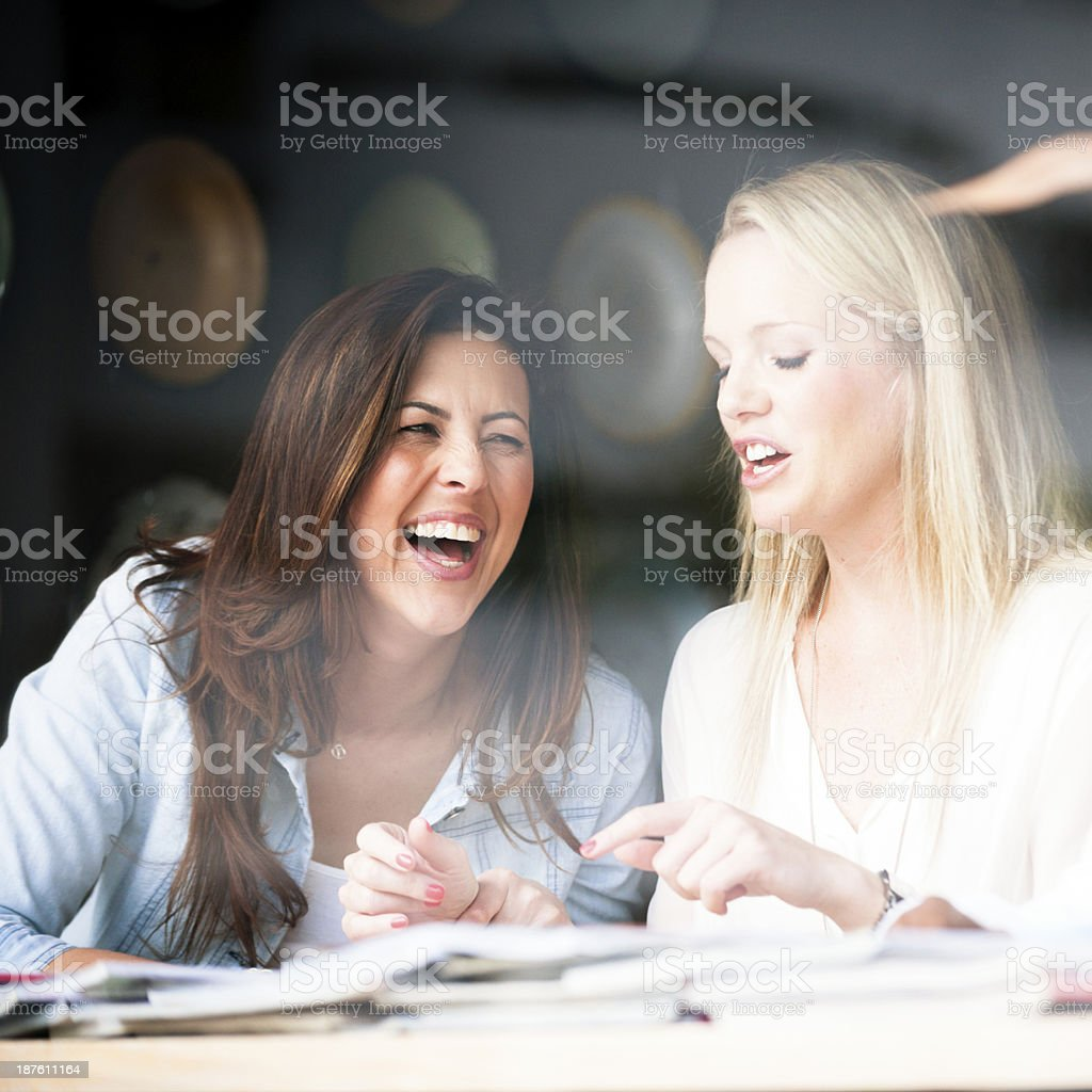 Laughing Out Loudly royalty-free stock photo