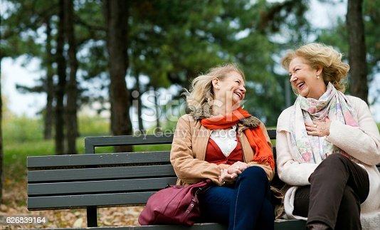 istock Laughing seniors. 626839164