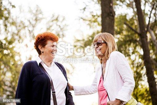 istock Laughing seniors 849979586