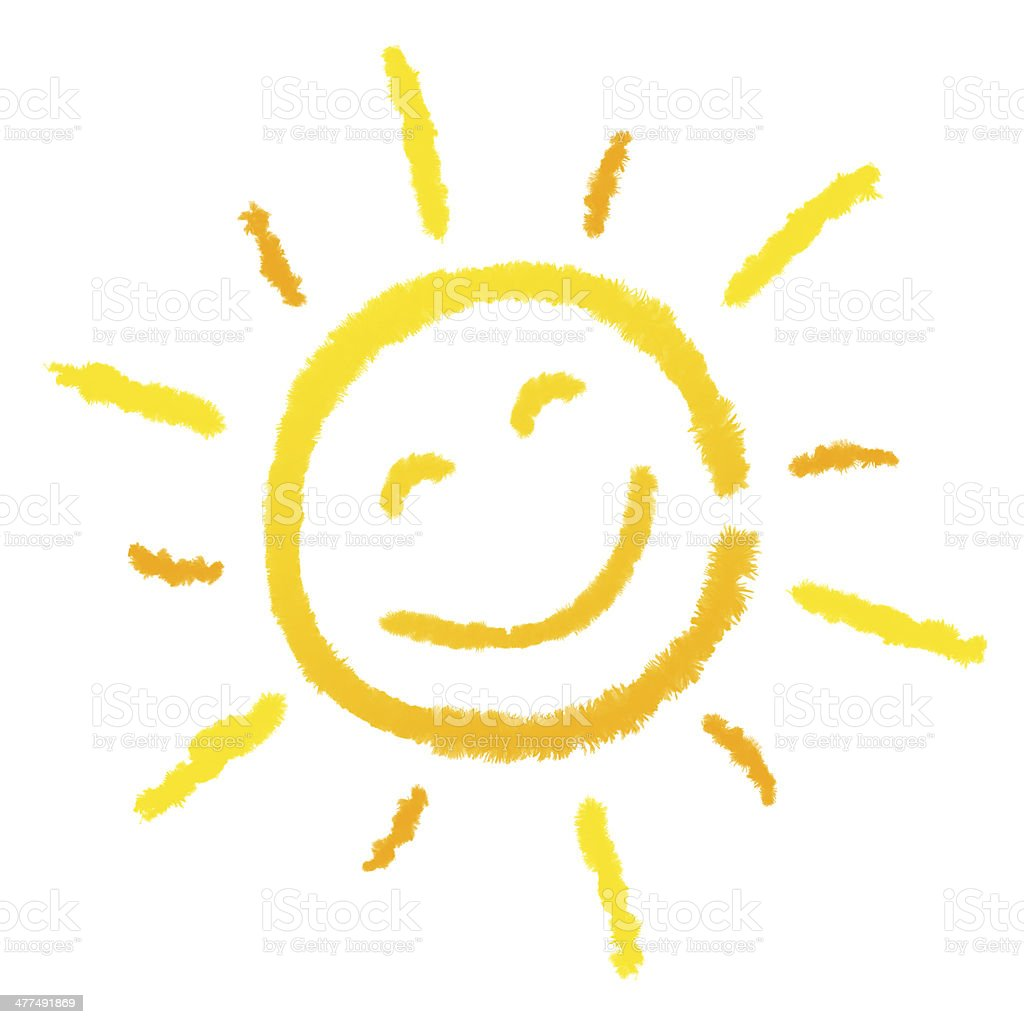 Lachende Sonne, Sun stock photo