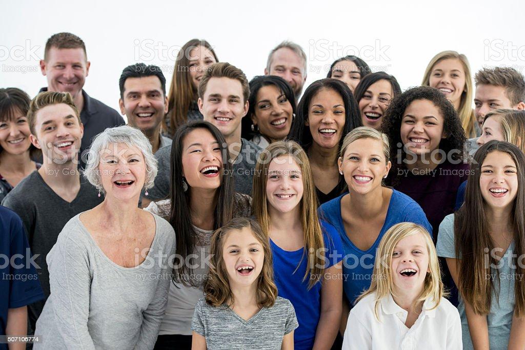 Lachen zusammen gerne – Foto