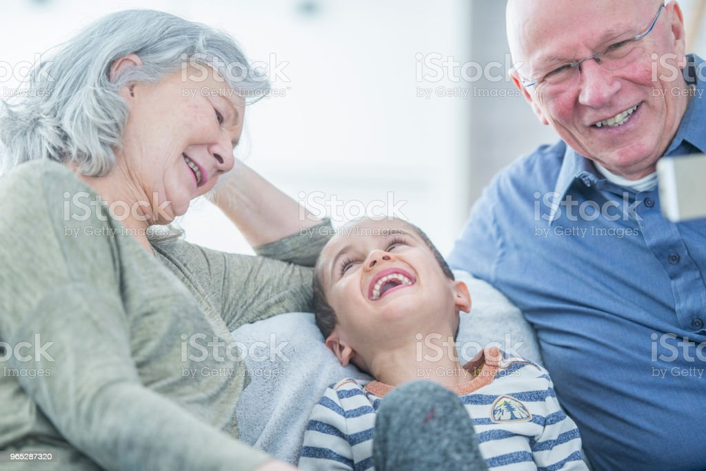 Laughing Together royalty-free stock photo