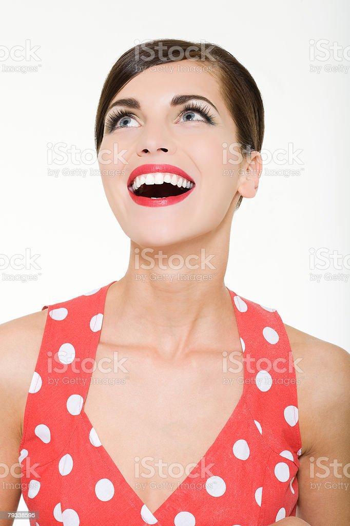 Laughing woman 免版稅 stock photo