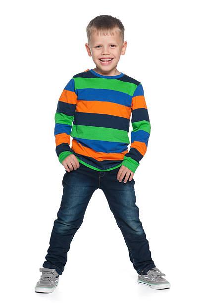 Lachen junge Jungen – Foto