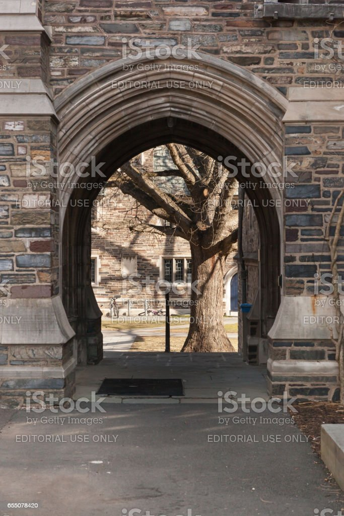Laughlin Hall at Princeton University stock photo