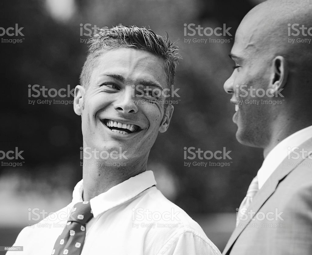 Laughter between friends - Austin iStockalypse royalty-free stock photo