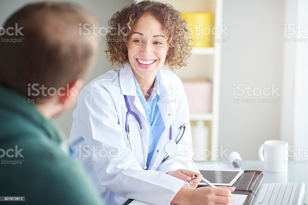 Risa es la mejor medicina - foto de stock
