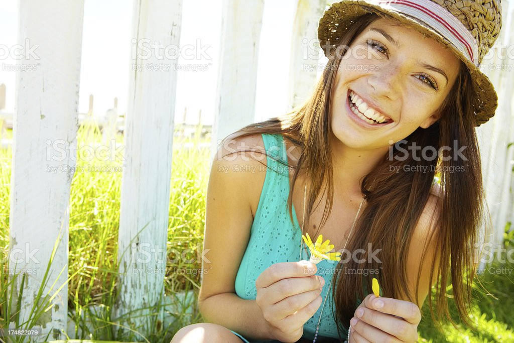 Laughter is the cure for everything stock photo