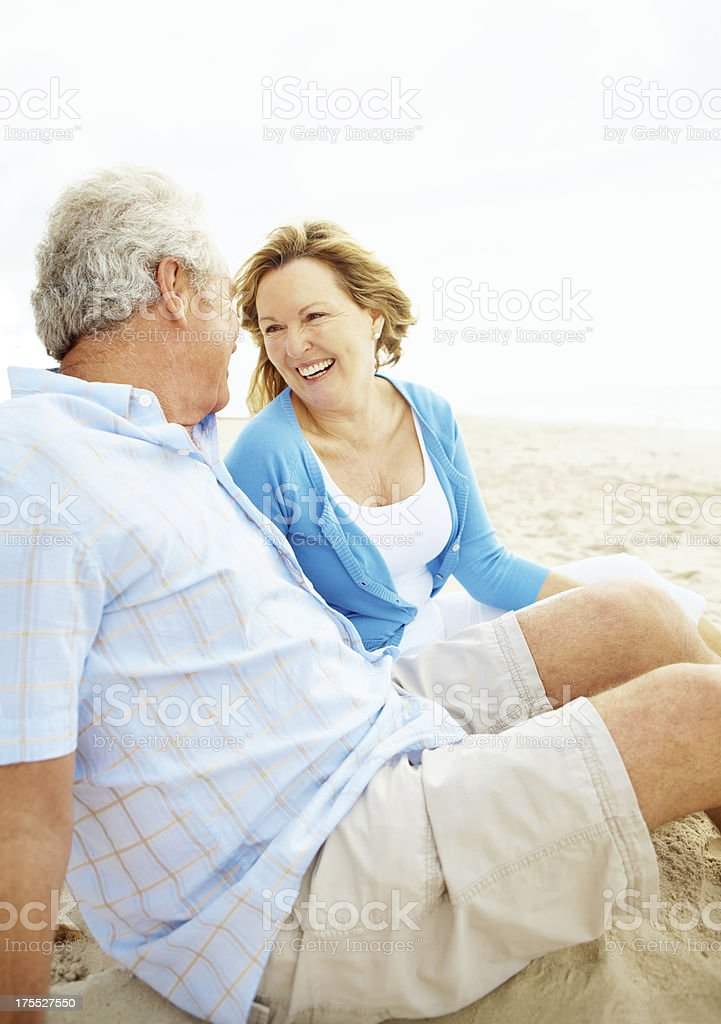Laughter is the key to youthfulness royalty-free stock photo