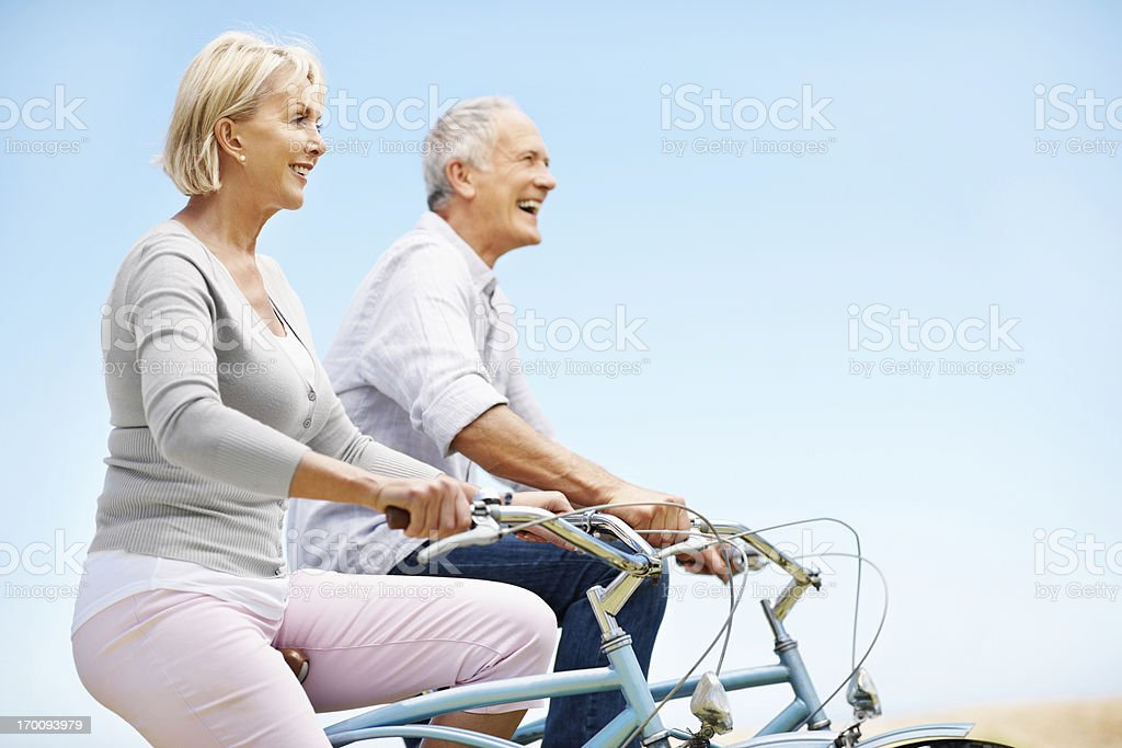 Laughter keeps you young royalty-free stock photo