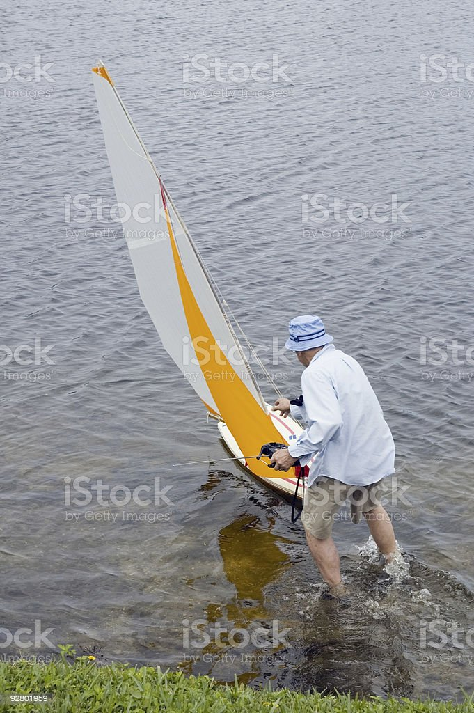 launch boat 2 royalty-free stock photo