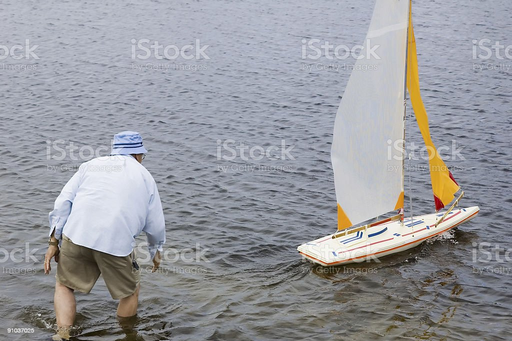 launch boat 3 royalty-free stock photo