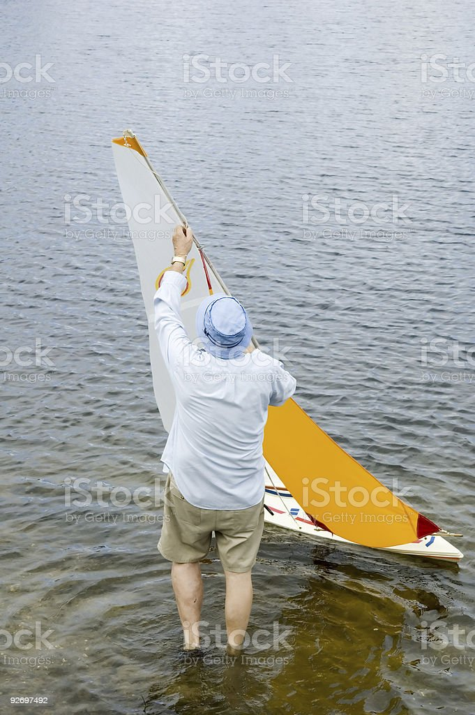 launch boat royalty-free stock photo