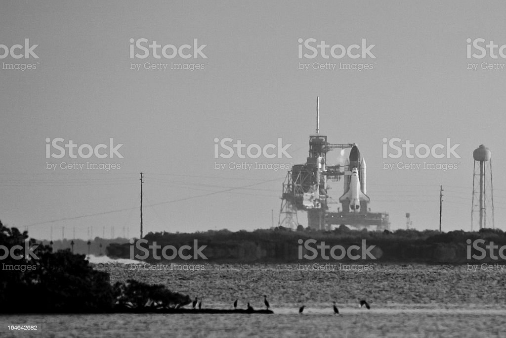 Launch of Endeavour STS134 royalty-free stock photo