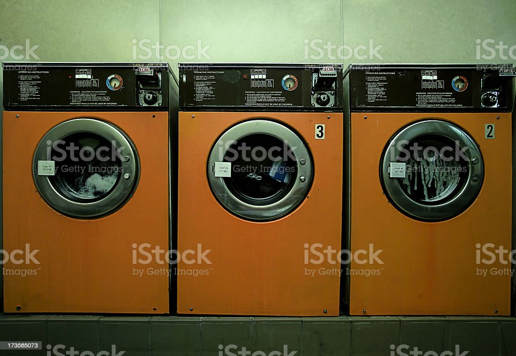 laundromat royalty-free stock photo