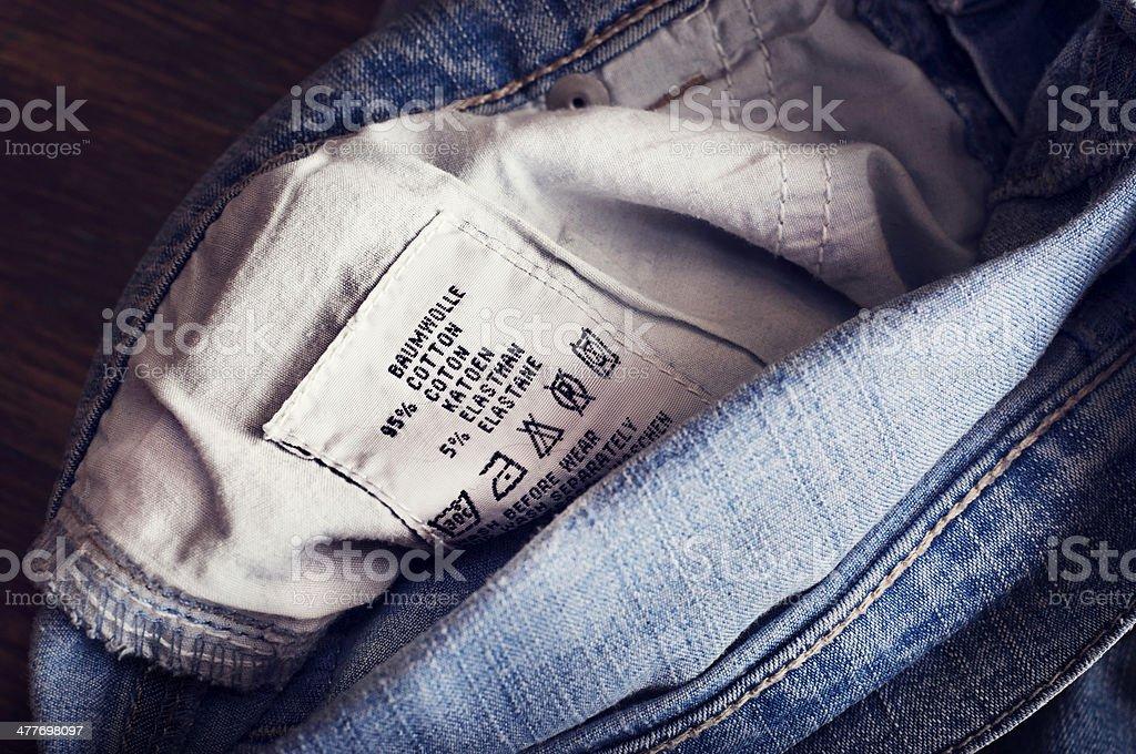 laundry advice stock photo