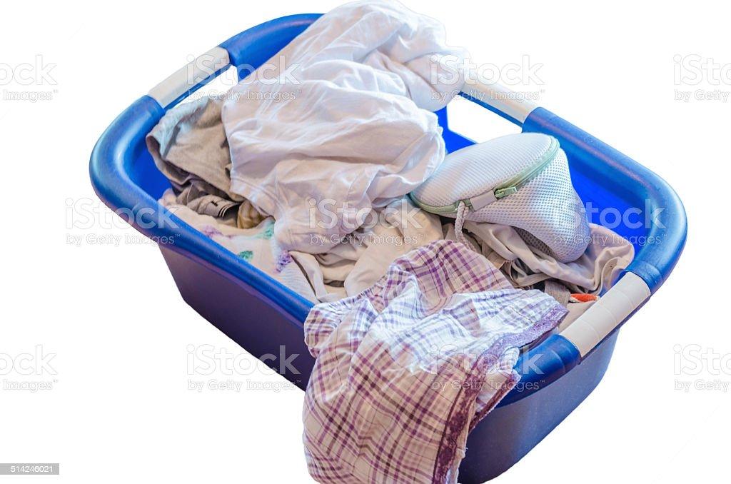 Laundry basket, Dirty Laundry stock photo