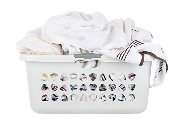 Laundry Basket  laundry basket stock pictures, royalty-free photos & images