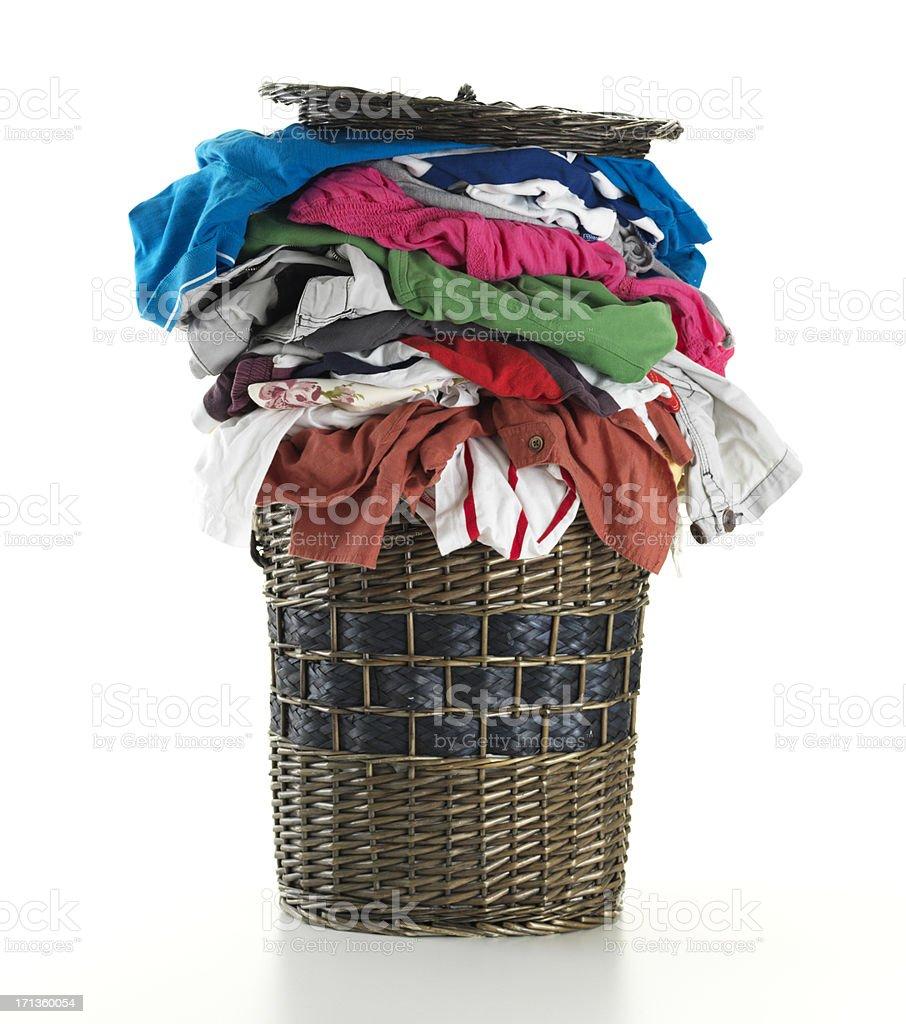 Laundry Basket royalty-free stock photo