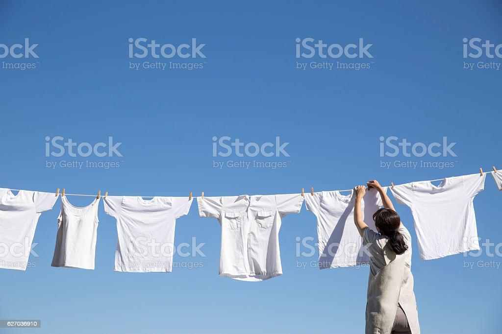Lavar roupas - foto de acervo