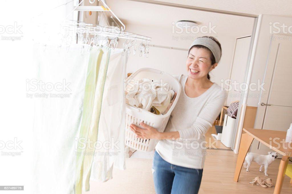 Pour la blanchisserie - Photo
