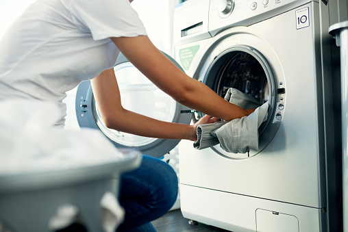 Laundry Day Comes Around Once Every Week Stock Photo - Download Image Now