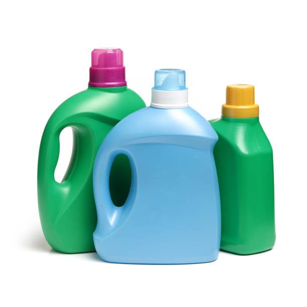 Laundry Detergent Bottle on white background Laundry Detergent Bottle on white background laundry detergent stock pictures, royalty-free photos & images