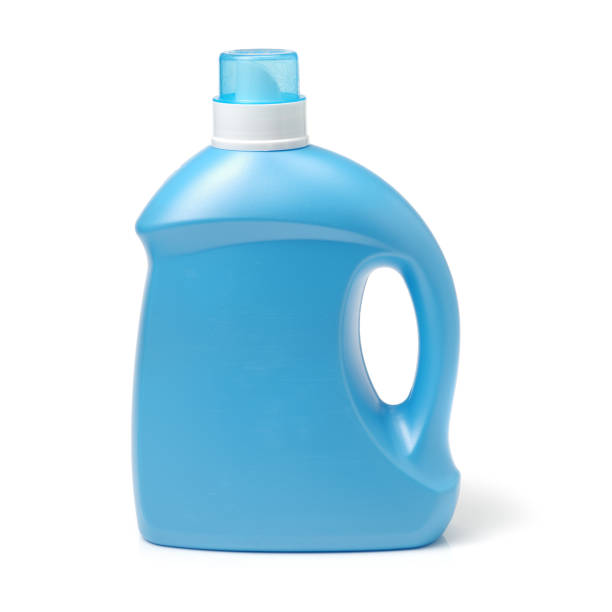laundry detergent bottle  on white background - lysol stock pictures, royalty-free photos & images