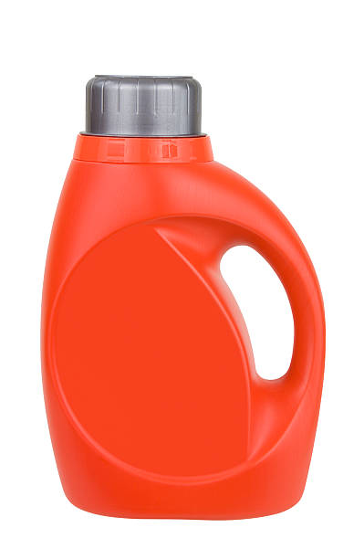 Laundry Detergent Laundry detergent bottle isolated on white.Please also see: laundry detergent stock pictures, royalty-free photos & images