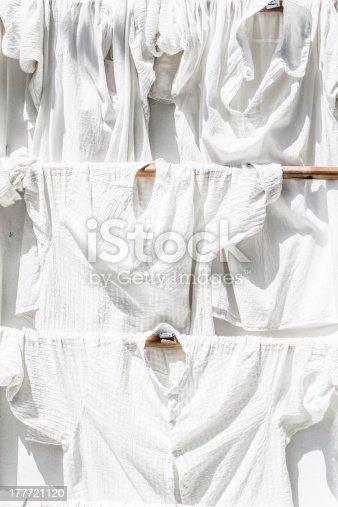 istock Laundry hanging outdoor 177721120