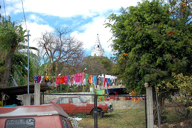 Laundry in Mexico